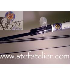 stringers fin Opal noirsSysteme 96 / 142grs