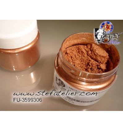 MICA poudre couleur cuivre rouge pour fusing 50grs