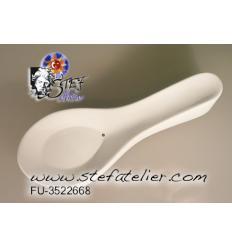 Moule céramique cuillière chinoise pour fusing 12x3x2,5