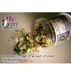 confetti couleurs mixées 190 grs. compatible fusing S96