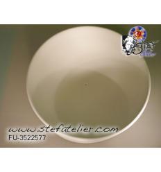 moule céramique pour fusing bol globulaire dia 29cm H:7cm