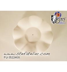 moule fusing assiette fleur 13cm diametre