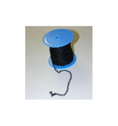 1 mètre chaînette de suspension couleur Noire