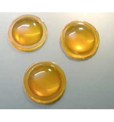 mini cabochon ambre 12mm