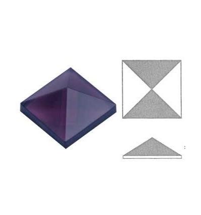 cabochon Pyramide de 30x30mm amethiste