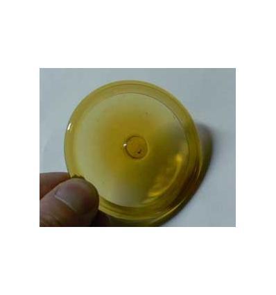 cive soufflée de 8cm diam ambre