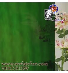 """verre """"S"""" waterglass vert foncé 28x30cm"""