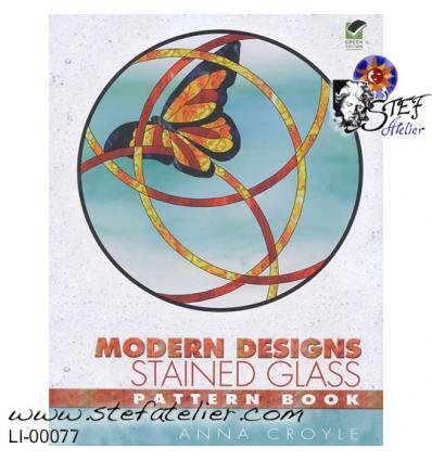 """livre  Vitrail """"modern designs"""""""
