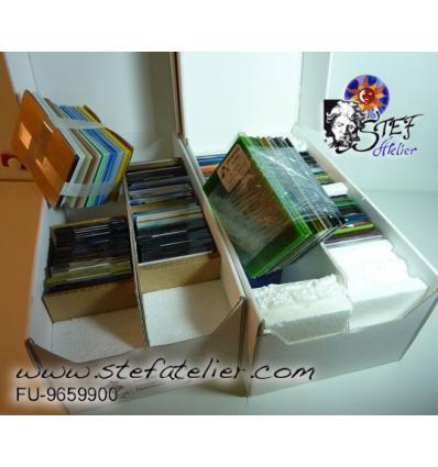 Catalogue d'échantillons de tous les verres  Fusing S96