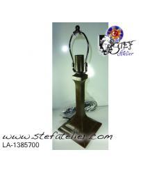 """Pied de lampe """"Handel"""" 26 et 38cm de haut avec la lyre"""