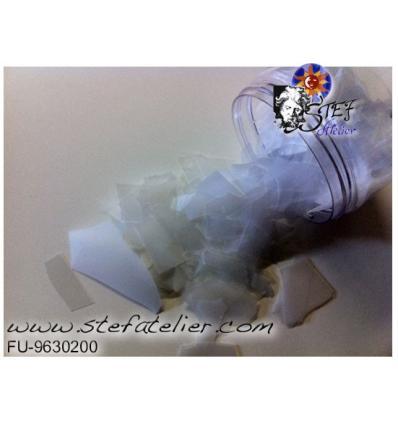 Confetti blanc opaline 100grs systeme 96