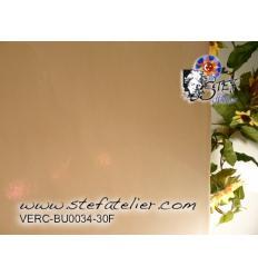 "Verre ""BU"" couleur peau opaque fusing Bullseye 29x25cm"