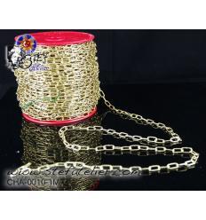 Chaînette de suspension couleur laiton 1m