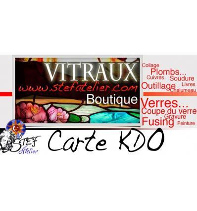 CARTE Cadeau 40 euros TTC
