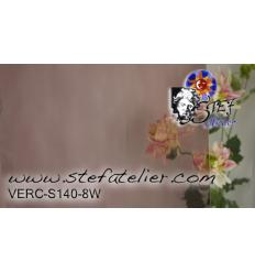"Verre ""S"" Waterglass rose clair 30x26cm"