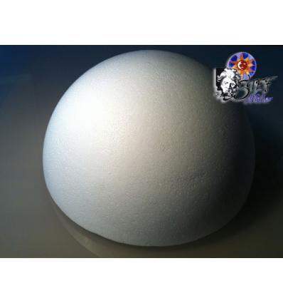 Modele de lampe 30cm demie sphere vierge en polystirene