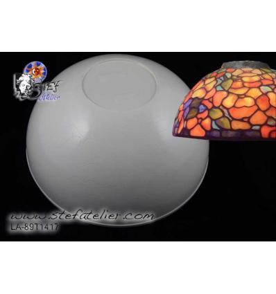 Modele de chapeau de lampe Dogwood 30cm diam