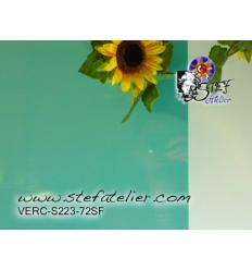 "Verre ""S"" turquoise opaque compatible fusing S9630x30cm"