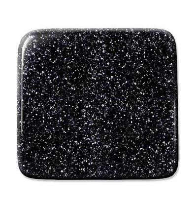 "Verre ""S"" Verre noir opaque aventurine compatible fusing S96 30x30cm"