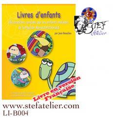 livres d'enfants : modèles de vitraux