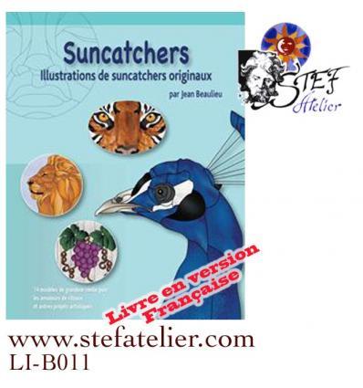 suncatchers : Livre de modèles de vitraux en Français