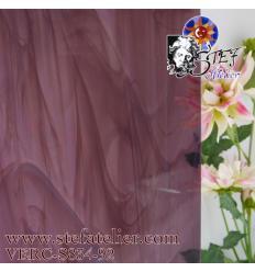 "Verre ""S"" vieux rose clair..."