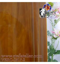 S brun beige et opaline bariolé 30x30cm
