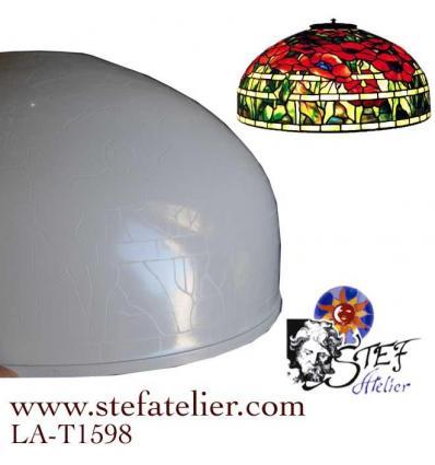 Modele Chapeau de lampe Odyssey Oriental Poppy 45cm