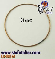 Cercle en fil de cuivre 20cm diamètre
