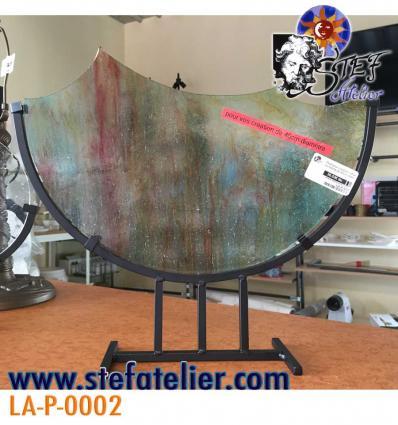 Pied pour création vitrail ou fusing de 40cm diam