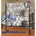 Pied pour création vitrail ou fusing de 30cm de côté