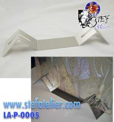 Support pour création vitrail ou fusing de 38cm de large. Epaisseur max 8mm