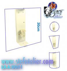 Support pour applique lampe 30cm de haut une ampoule E27