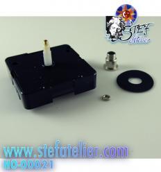 Mécanisme d'horloge pour plaque de 2 à 5mm max - trou 10mm diam (fabrication allemande)