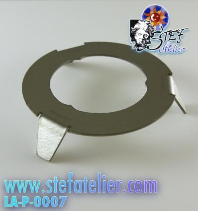Support pour création assiette ou plats fusing pied de 10cm de diamètre sur 2 cm de haut