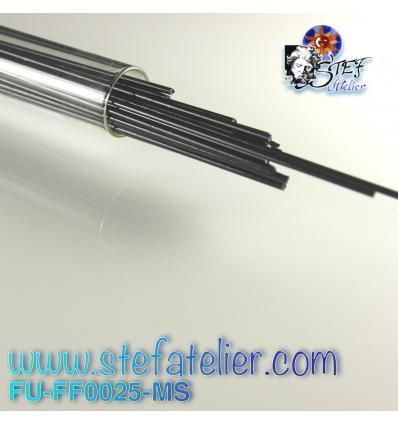 Stringers Noir opaque pour verre float 250grs
