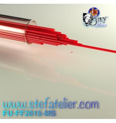 Stringers Rouge opaque pour verre float 250grs