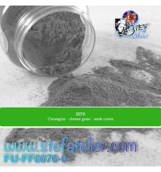 Poudre vert chrome transparent pour verre float 250grs