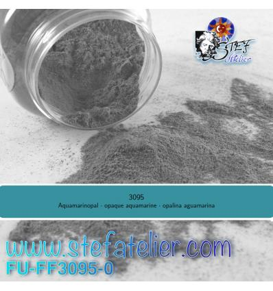 Poudre aigue marine opaque pour verre float 250grs