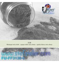 Poudre blanc opaque extra dense pour verre float 250grs