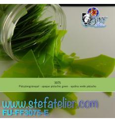 Confettis vert pistache opal pour verre float 75grs
