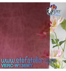 "Verre ""W"" Mystic 136 violet 26x27cm"