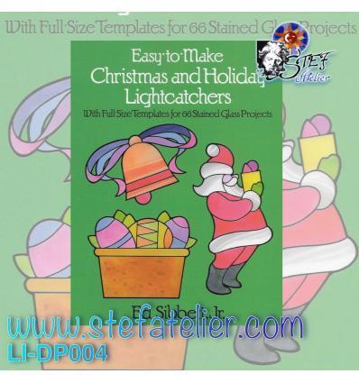 """Livre modèles vitraux """" Noel et Paques """""""