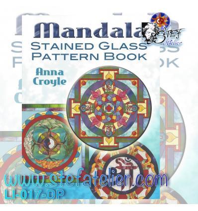"""livre de modèles de vitraux """" MANDALAS """""""