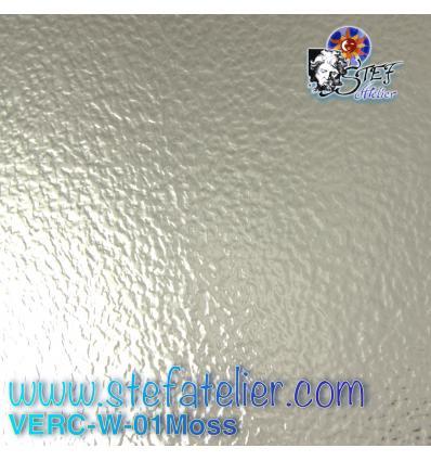 """Verre """"W"""" granité mousse transparent 27x26cm"""