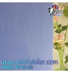 "Verre ""W"" BLEU 05 fusing S96 27x26cm"