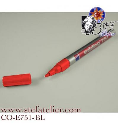 crayon laque couleur Rouge pointe 1 à...