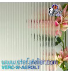 """Verre """"W"""" AERO LITE transparent 27x26cm"""