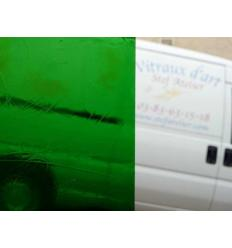 """Verre """"S"""" Artique vert foncé 30x30cm"""