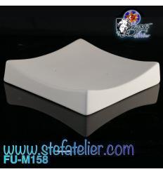 Moule fusing céramique cadratin n°I 10.7 X 10.7 cm h:1.4 cm